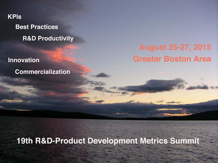 Product Development Metrics Summit 19