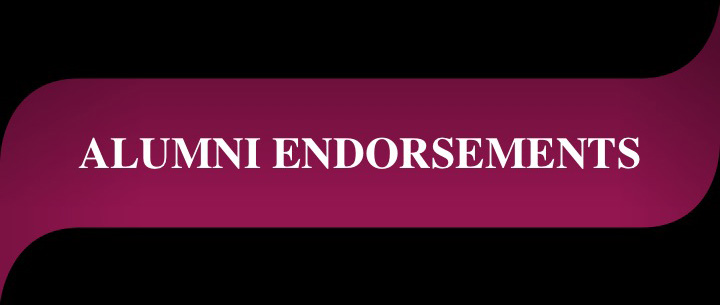 Alumni Endorsements