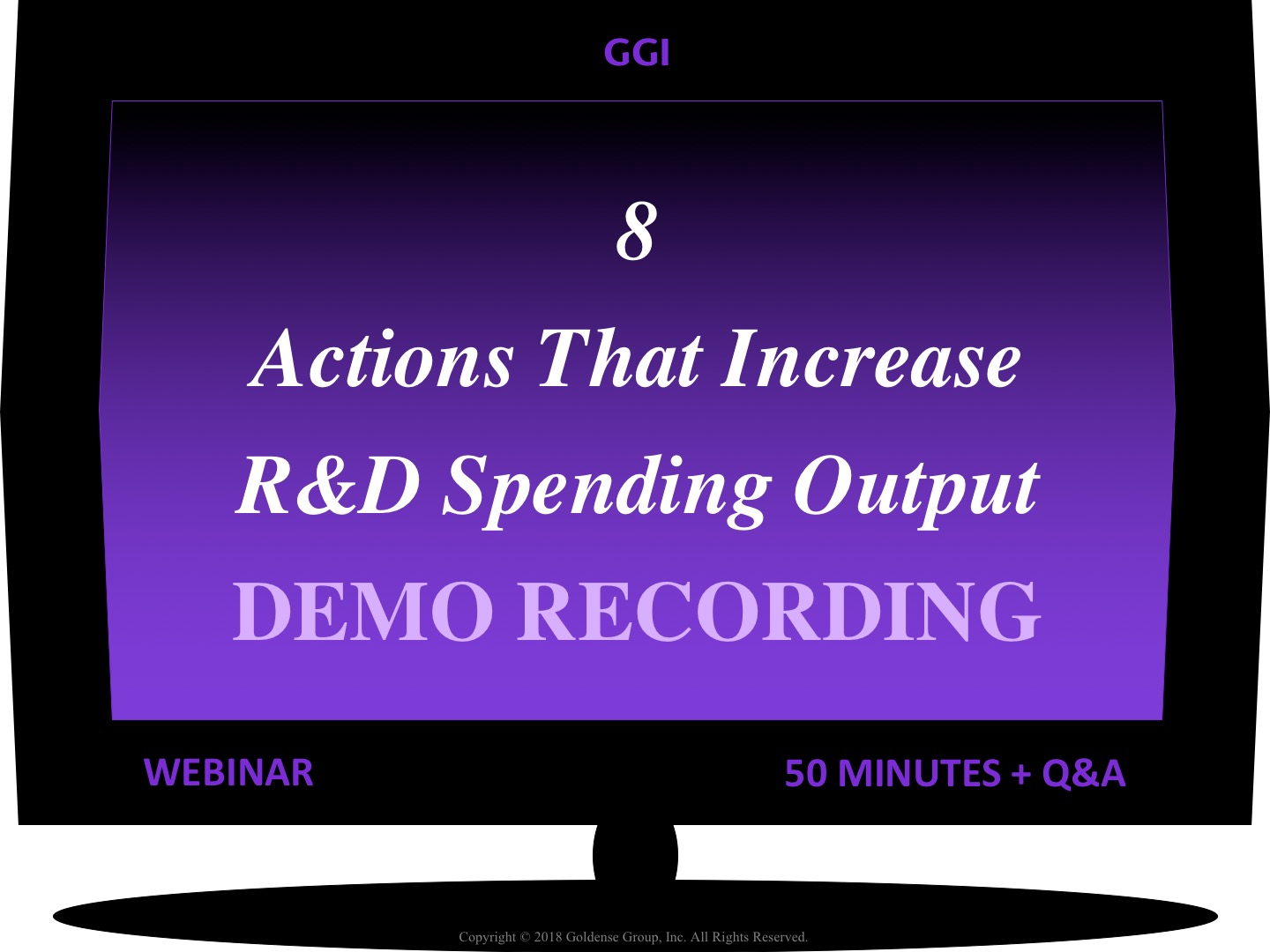 8 Actions That Increase R&D Spending Output Webinar